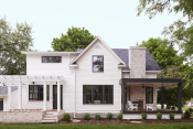 Custom Home with Pella Products