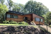 Natural Stained Exterior in Chestnut Hill, MA