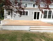 Deck Build in Weston, MA