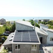 A beautiful view of an ACE Solar installation in North Truro, MA.