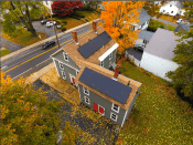 LG Solar panels installed by ACE Solar in Merrimack, MA.