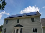 An ACE Solar installation in Haverhill, MA.